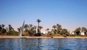 Der Nil Lizenzfreies Stockbild