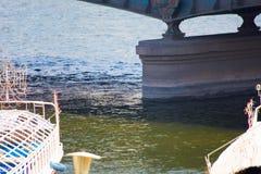 Der Nil bei Kairo - Ägypten Lizenzfreie Stockfotografie