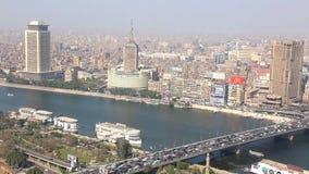 Der Nil bei Kairo - Ägypten - volles VIDEOHD 1080 stock footage