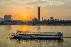 Der Nil-Fluss lizenzfreie stockbilder