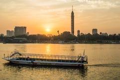 Der Nil-Fluss lizenzfreies stockbild