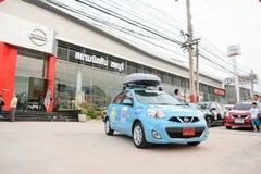 Der 4. Nissan Eco-Wohnwagen 2015 Lizenzfreie Stockfotografie