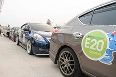 Der 4. Nissan Eco-Wohnwagen 2015 Stockbilder