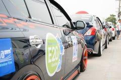 Der 4. Nissan Eco-Wohnwagen 2015 Lizenzfreie Stockbilder