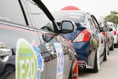 Der 4. Nissan Eco-Wohnwagen 2015 Lizenzfreies Stockbild