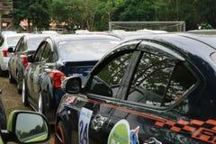 Der 4. Nissan Eco-Wohnwagen 2015 Lizenzfreies Stockfoto