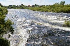 Der Niva-Fluss Lizenzfreie Stockbilder