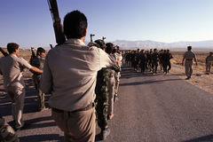 1993 der Nord-Irak - Kurdistan Stockfotografie