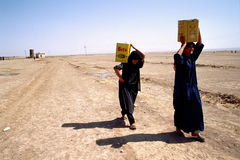 1993 der Nord-Irak - Kurdistan Lizenzfreies Stockfoto