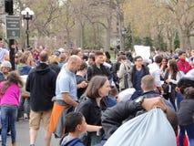 Der 2016 NYC-Kissenschlacht-Tag 68 Lizenzfreie Stockbilder