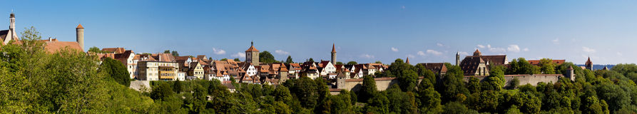 der ob rothenburg tauber Στοκ φωτογραφία με δικαίωμα ελεύθερης χρήσης