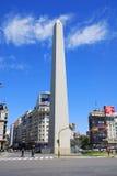 Der Obelisk von Buenos Aires stockfoto