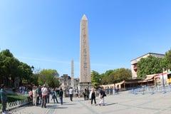 Der Obelisk von Theodosius, Istanbul lizenzfreie stockbilder