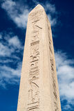 Der Obelisk von Theodosius in Istanbul, die Türkei Lizenzfreies Stockbild