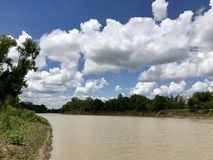 Der obere Trinity Fluss lizenzfreie stockbilder
