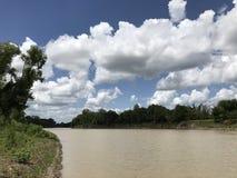 Der obere Trinity Fluss lizenzfreie stockfotos