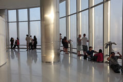 An der Oberseite Dubai Stockfoto