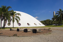 Der Oca (Hütte) - Ibirapuera Park - São Paulo Lizenzfreie Stockfotos