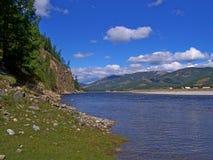 Der Oka-Fluss Lizenzfreie Stockbilder