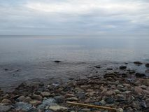Der Ontariosee-Ufer Lizenzfreies Stockbild