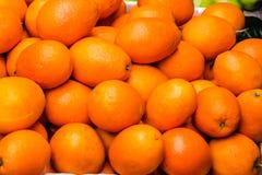 Der orange Fruchthintergrund Stockfotografie