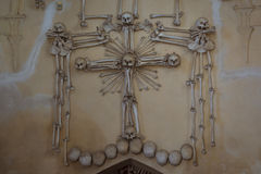 Der Ossuary in Sedlec Kostnice, Kutna Hora, Tschechische Republik Stockfotos