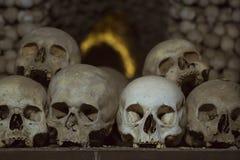Der Ossuary in Sedlec Kostnice, Kutna Hora, Tschechische Republik Stockbilder