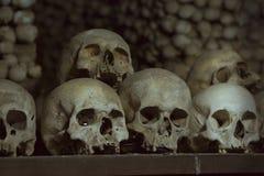 Der Ossuary in Sedlec Kostnice, Kutna Hora, Tschechische Republik Stockbild