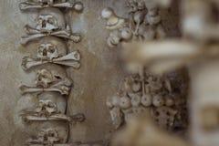 Der Ossuary in Sedlec Kostnice, Kutna Hora, Tschechische Republik Lizenzfreies Stockfoto
