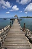 Der Ozean-Anlegestelle im Sun lizenzfreie stockfotografie