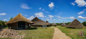 Der pädagogische alte Bauernhof Butser Lizenzfreie Stockfotografie