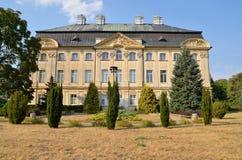 Der Palast Ciazen, Polen des Bischofs Lizenzfreie Stockfotografie