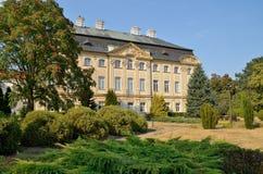 Der Palast Ciazen, Polen des Bischofs Lizenzfreie Stockfotos