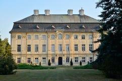 Der Palast Ciazen, Polen des Bischofs Stockbild
