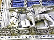 Der Palast der Dogess (Palazzo Ducale), Venedig, Italien Stockbild