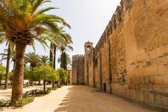 Der Palast des Alcazar des Christian Monarchss, Alcazarde Lizenzfreie Stockbilder