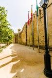 Der Palast des Alcazar des Christian Monarchss, Alcazarde Lizenzfreies Stockbild