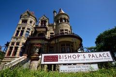 Der Palast 1892 des Bischofs Lizenzfreie Stockfotos