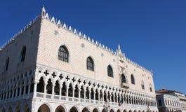 Der Palast des Doges in Venedig lizenzfreie stockfotos