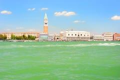 Der Palast des Doges in Venedig stockfotos