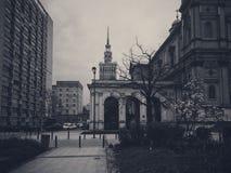 Der Palast der Kultur Stockbilder