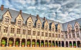 Der Palast der Prinz-Bischöfe in Lüttich, Belgien lizenzfreies stockfoto