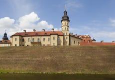 Der Palast- und Schlosskomplex - Nesvizh-Schloss belarus Stockfoto