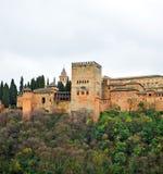 Der Palast von Alhambra in Granada, Spanien Stockfoto