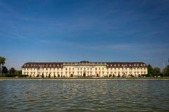Der Palast von Ludwigsburg, nahe Stuttgart, einer von Deutschland-` s größten barocken Palästen Lizenzfreies Stockbild