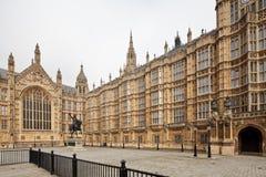 Der Palast von Westminster Stockbild
