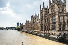 Der Palast von Westminster stockfoto