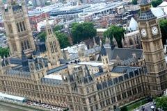 Der Palast von Westminster Stockbilder