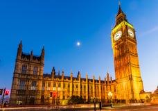Der Palast von Westminster, London Lizenzfreie Stockbilder