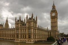 Der Palast von Westminster London, England, Großbritannien stockfoto